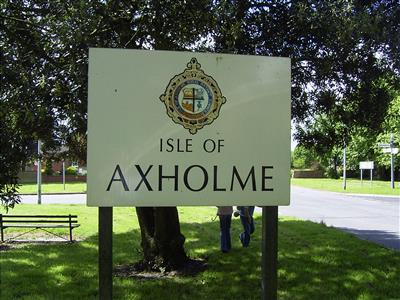 Isle of Axholme sign